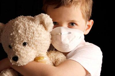 آلودگی هوا و بچه ها