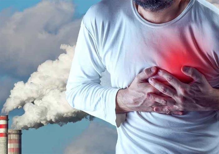 بیماری های ناشی از آلودگی هوا