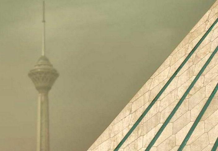 آلودگی هوا تهران و اهواز