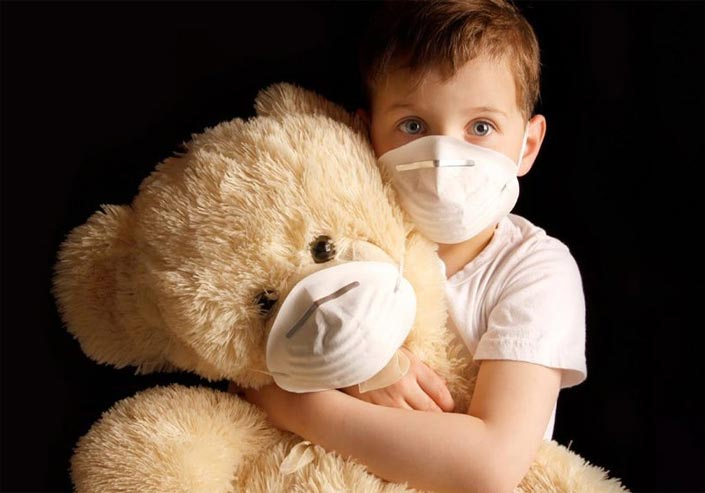 تأثیر آلودگی هوا بر کودکان در خانه