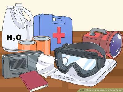 روش های محافظت در برابر گرد و غبار