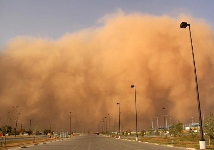 طوفان گرد و غبار