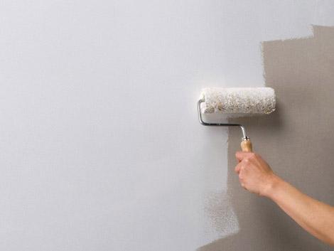آلودگی دیوارهای تازه رنگ شده