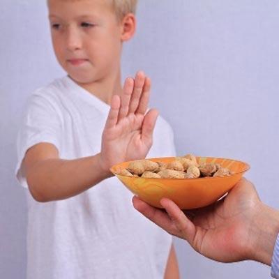 حساسیت به بادام زمینی
