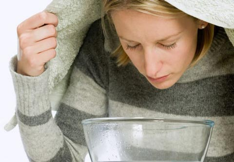 درمان سرفه خشک با بخور اکالیپتوس و نعناع