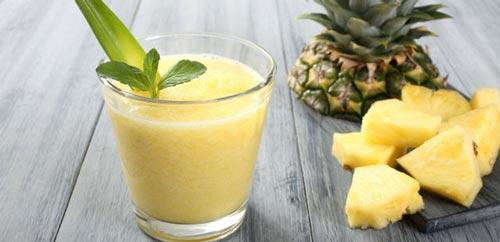 میوه و آب آناناس برای درمان سرفه خشک حساسیتی