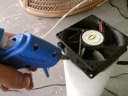 اسمبل کردن دستگاه تصفیه هوای دستی
