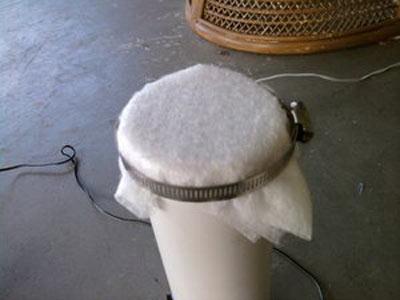 ساخت فیلتر دستگاه تصفیه هوا